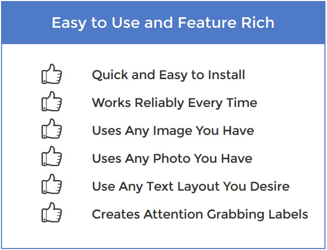 Feature Rich LightScribe Labeling Software