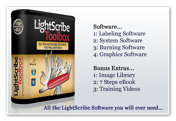 LightScribe Labeling Software