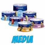 CD & DVD Media Needed for LightScribe