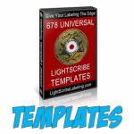 678 LightScribe Templates