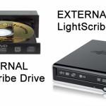 LightScribe Labeling Hardware