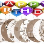 12 lightscribe birthday templates