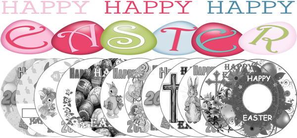 12 Bonus Easter 2020 LightScribe Templates